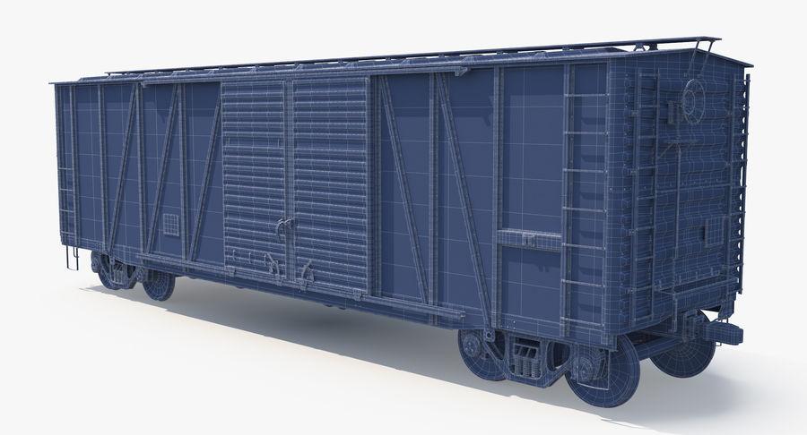 Güterwagen royalty-free 3d model - Preview no. 21