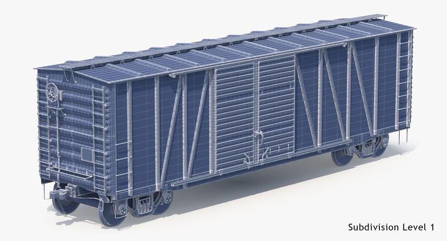 Güterwagen royalty-free 3d model - Preview no. 25