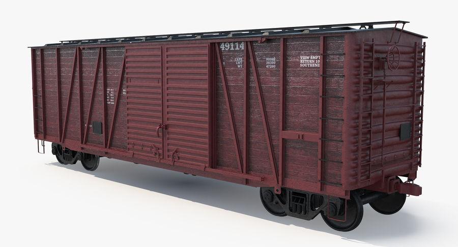Güterwagen royalty-free 3d model - Preview no. 11