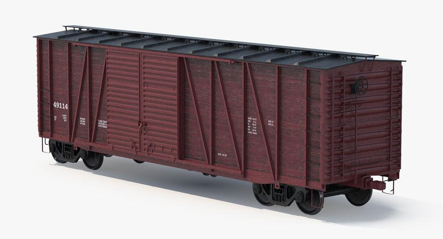 Güterwagen royalty-free 3d model - Preview no. 4