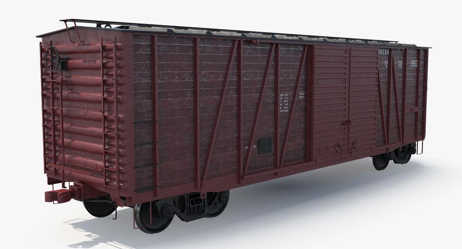 Güterwagen royalty-free 3d model - Preview no. 10