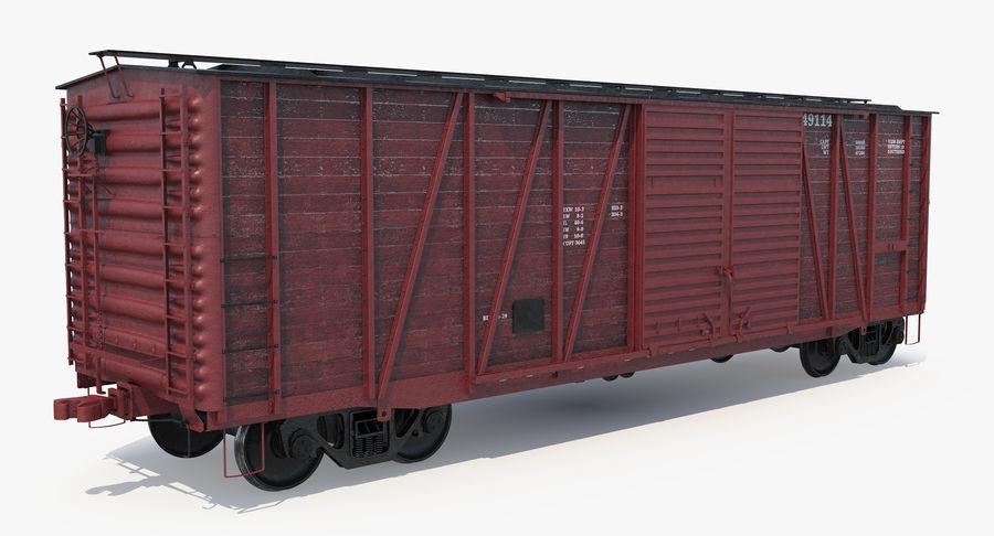 Güterwagen royalty-free 3d model - Preview no. 12