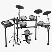 Electronic Drum Kit Generic 2 3D Model 3d model