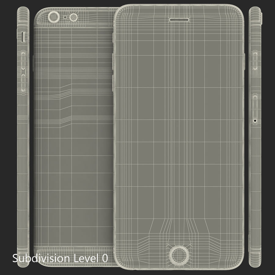 Apple Electronics Collection royalty-free 3d model - Preview no. 49