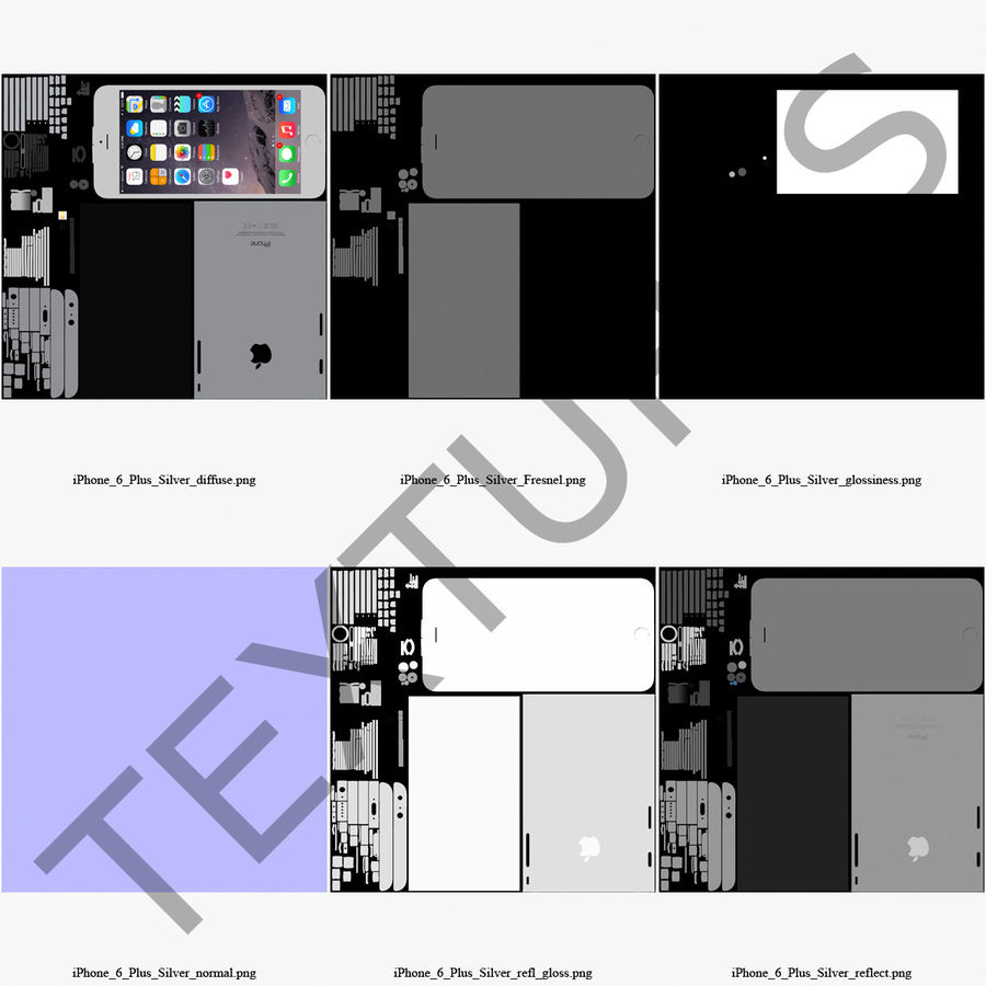 Apple Electronics Collection royalty-free 3d model - Preview no. 62