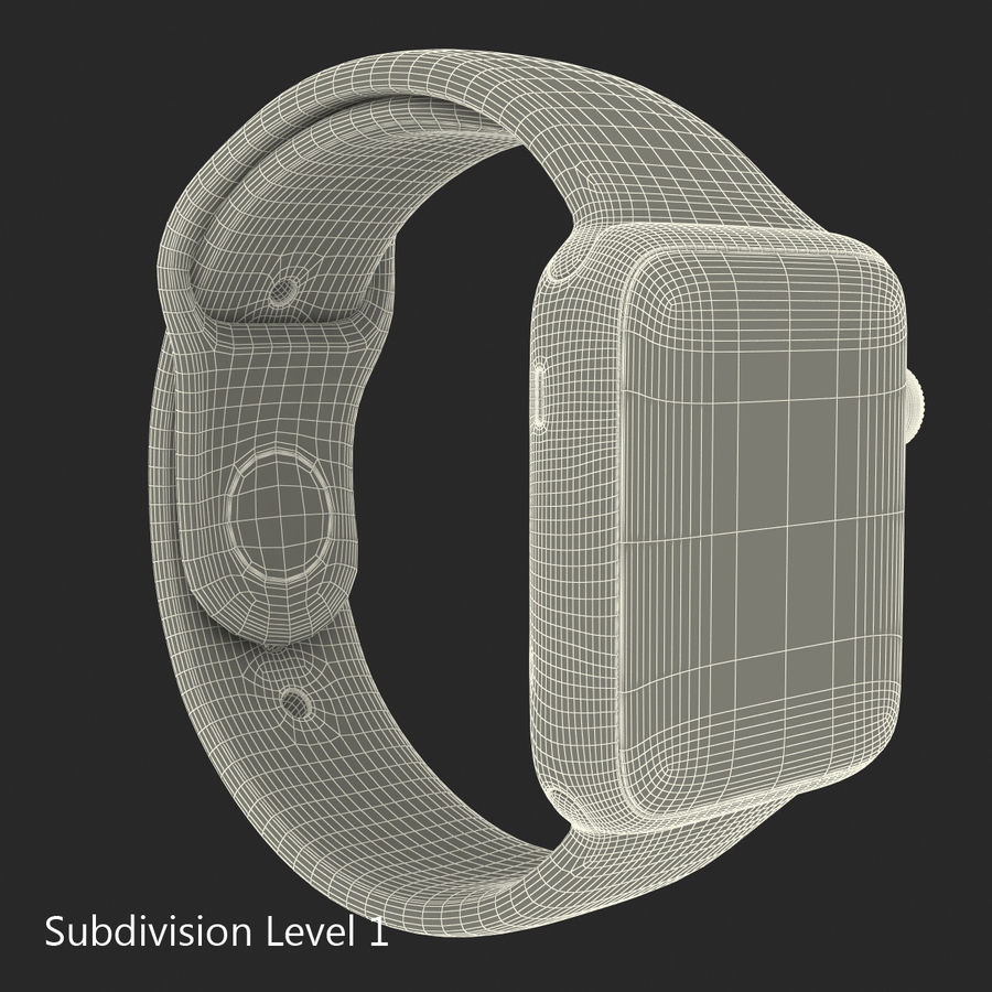 Apple Electronics Collection royalty-free 3d model - Preview no. 54