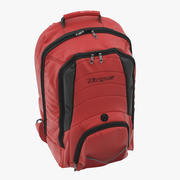 Backpack Red 3D Model 3d model