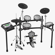 Electronic Drum Kit Generic 3D Model 3d model