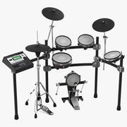 Electronic Drum Kit Generic 3D Model 3d model