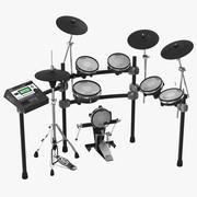 Electronic Drum Kit Roland 2 3D模型 3d model
