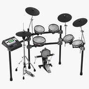Electronic Drum Kit Roland 2 3D Model 3d model