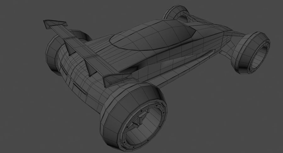 E-Car royalty-free modelo 3d - Preview no. 20
