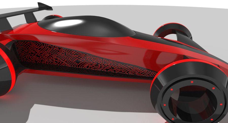 E-Car royalty-free modelo 3d - Preview no. 6