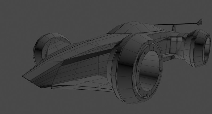 E-Car royalty-free modelo 3d - Preview no. 17