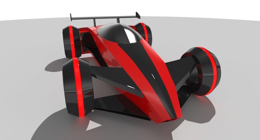 E-Car royalty-free modelo 3d - Preview no. 9