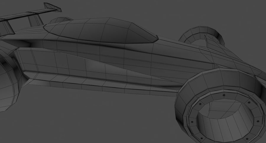 E-Car royalty-free modelo 3d - Preview no. 18