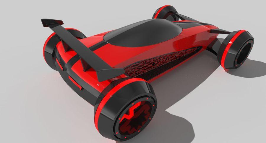 E-Car royalty-free modelo 3d - Preview no. 8