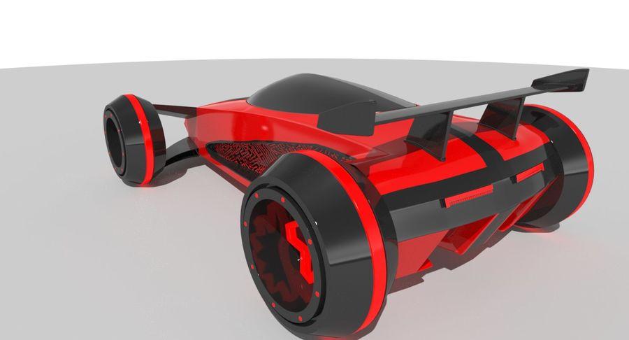 E-Car royalty-free modelo 3d - Preview no. 4
