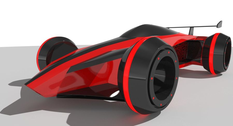 E-Car royalty-free modelo 3d - Preview no. 5