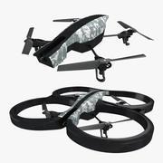AR 2.0 Parrot Drone - Collection 3d model