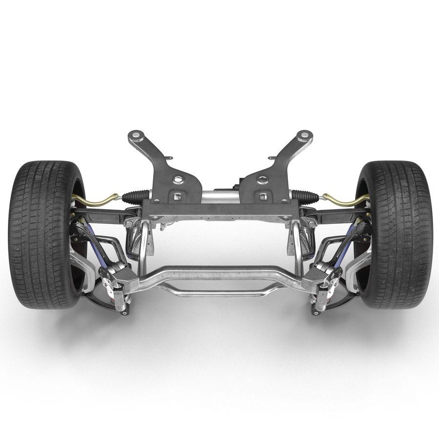 Sedan Suspension Front royalty-free 3d model - Preview no. 10