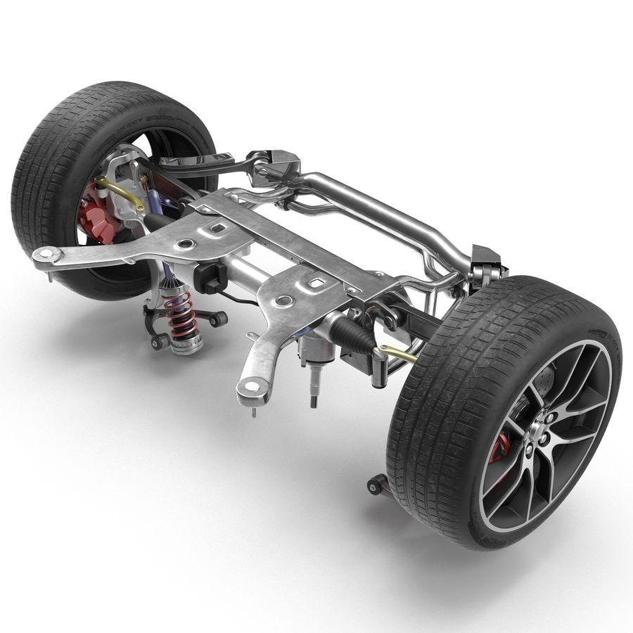 Sedan Suspension Front royalty-free 3d model - Preview no. 9