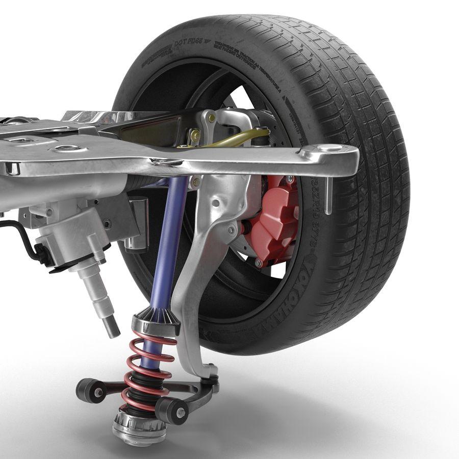 Sedan Suspension Front royalty-free 3d model - Preview no. 11
