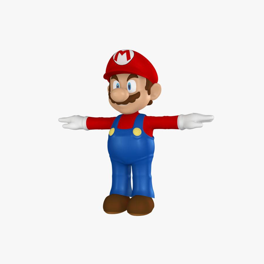 Mario royalty-free 3d model - Preview no. 1