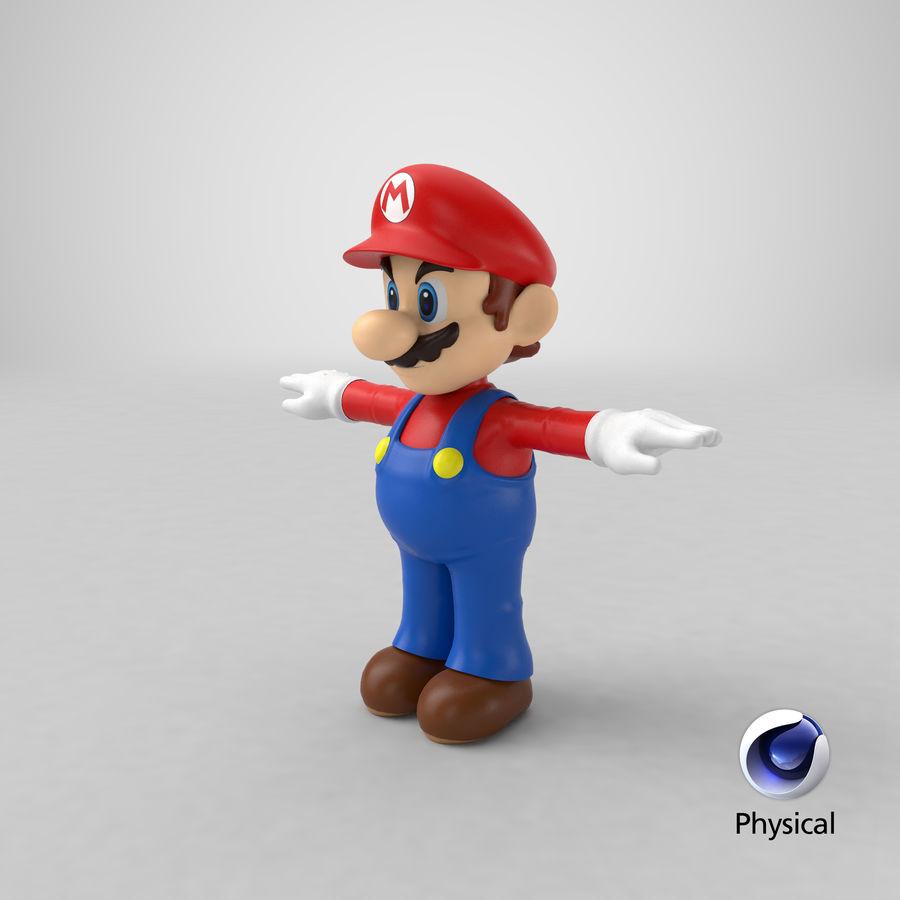 Mario royalty-free 3d model - Preview no. 48