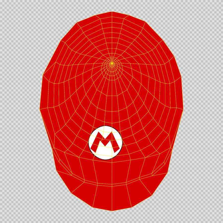 Mario royalty-free 3d model - Preview no. 34