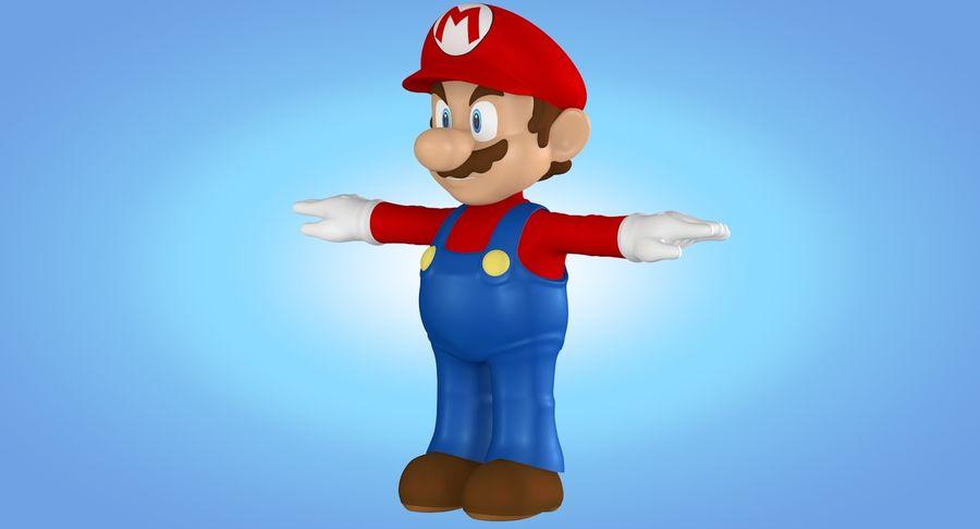 Mario royalty-free 3d model - Preview no. 11