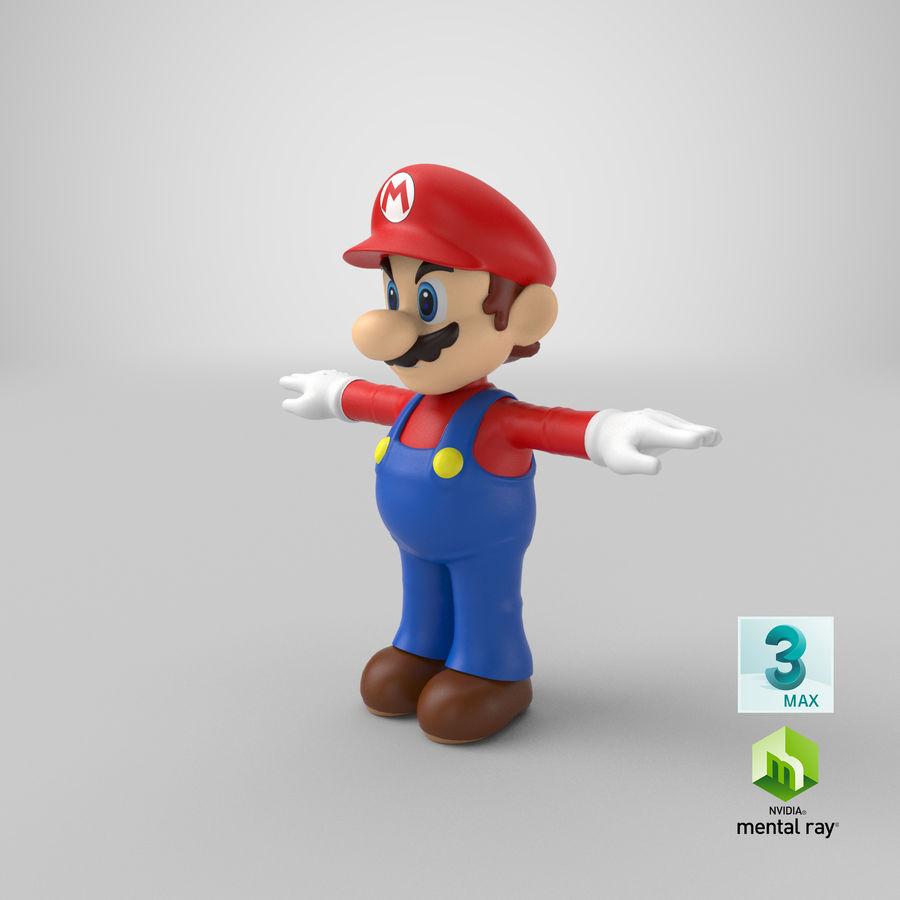 Mario royalty-free 3d model - Preview no. 46