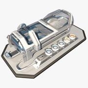 Scifi Cryopod Chamber 3d model