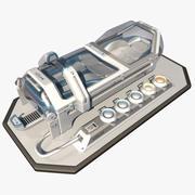 科幻暗室 3d model