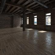 Scena bazowa Loft 3d model