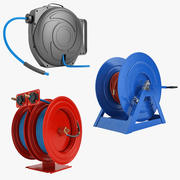 Hose Reel Collection 01 3d model