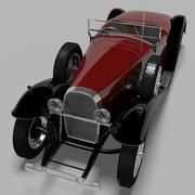 1931 Bugatti type 41 Royale 3d model