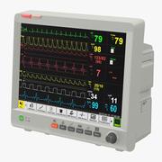 Hasta monitörü 3d model