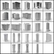 Coleção Buildings 3d model