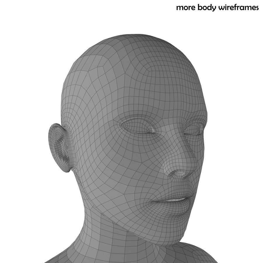 Fitness Model A2 royalty-free 3d model - Preview no. 76