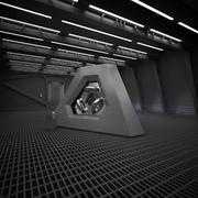 Sci Fi Reactor Room 3d model