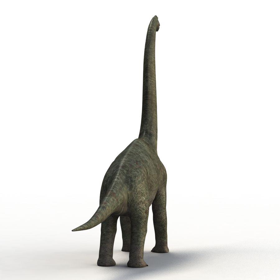 Braquiosaurio royalty-free modelo 3d - Preview no. 7