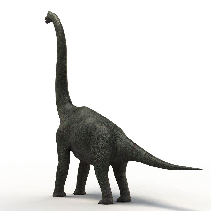 Braquiosaurio royalty-free modelo 3d - Preview no. 6