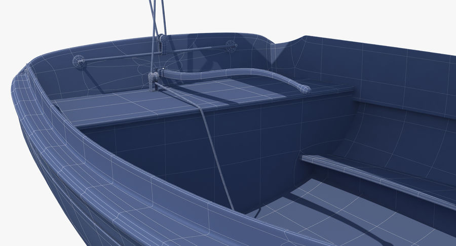 Segelboot royalty-free 3d model - Preview no. 22