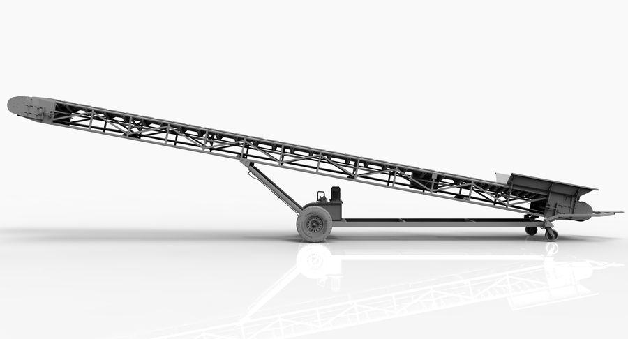 ленточный конвейер 3d модель