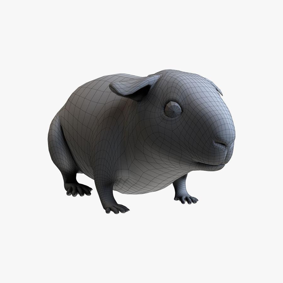 Meerschweinchen - Licht (FUR) royalty-free 3d model - Preview no. 12