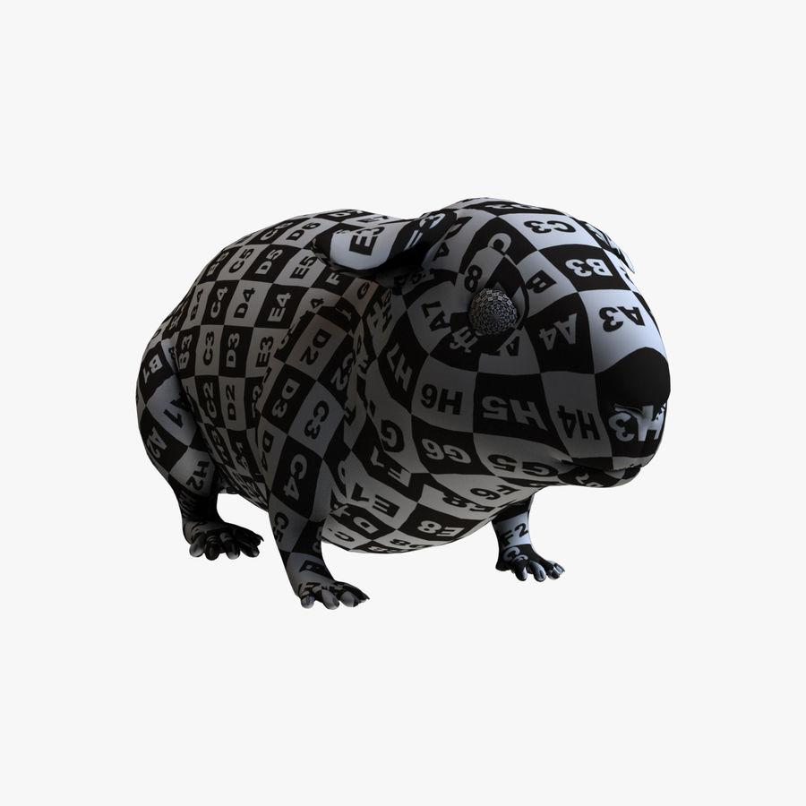 Meerschweinchen - Licht (FUR) royalty-free 3d model - Preview no. 11