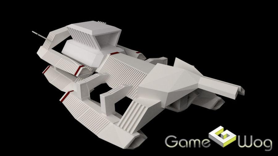 Sci-Fi Ship royalty-free 3d model - Preview no. 1