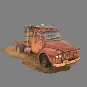 Escaneo 3D de camiones antiguos modelo 3d