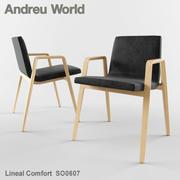 Andreu World Lineal Comfort SO0607 3d model